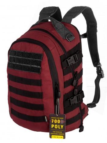 Рюкзак Городской, Тактический GONGTEX Striker Pack, арт 0370, цвет Красный Рододендрон (Red)