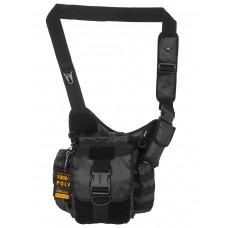 Тактическая сумка через плечо GONGTEX Sidekick SLING Bag, арт 0418,  цвет Черный (Black)