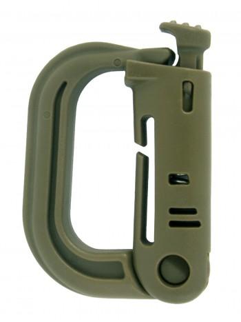 Карабин тактический  GONGTEX TACTICAL GRIM LOCK MOLLE, цвет Олива (Olive)