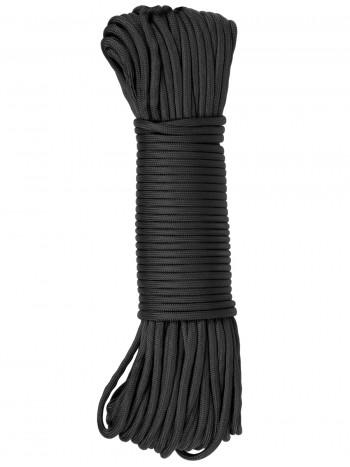 Паракорд GONGTEX Nylon Paracord, 30м, 5мм, нейлон, 11-ти жильный, 600 Lb, цвет Черный (Black)