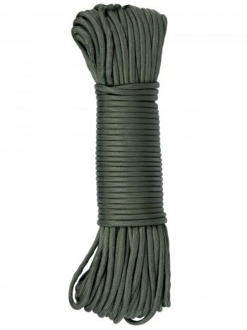 Паракорд GONGTEX Nylon Paracord, 30м, 5мм, нейлон, 11-ти жильный, 600 Lb, цвет Оливковый (Olive)
