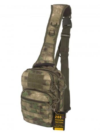 Тактический Рюкзак-Сумка GONGTEX Rover Sling Hexagon Backpack, арт 0306, цвет Атакс (A-TACS)
