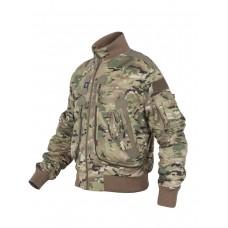 Куртка Пилот мужская (бомбер), демисезонная  762 Armyfans G056A, Ripstop, цвет Мультикам (Multicam)