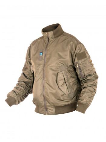 Куртка Пилот мужская (бомбер), осень-зима, 762 Armyfans GD056A, цвет Хаки (Khaki)