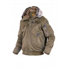 Куртка Пилот мужская (бомбер), осень-зима 762 Armyfans G037A, цвет Хаки (Khaki)