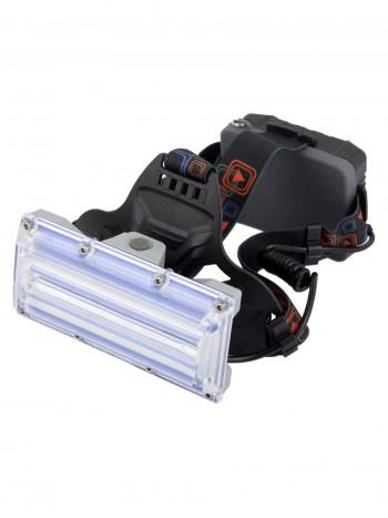 Мощный, налобный, светодиодный, аккумуляторный фонарь, арт. W-607