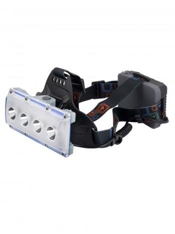 Мощный, налобный, светодиодный, аккумуляторный фонарь, арт. W-616