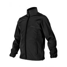 Куртка мужская демисезонная 2в1, AIR FORCE WINDBREAKER, 726 Armyfans, арт 038, цвет Черный (Black)