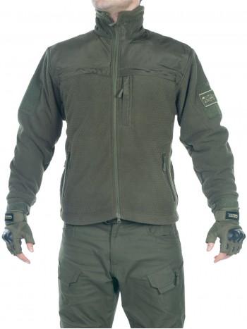 Куртка флисовая мужская GONGTEX Hexagon Tactical Fleece Jacket, арт 016, цвет Олива (Olive)