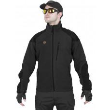 Флисовая куртка Tactical Fleece Jacket, Tactica 762, арт 1381, цвет Черный (Black)
