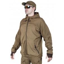 Мужская ветровка Tactical Series, 726 ARMYFANS, арт 055, цвет Хаки (Khaki)