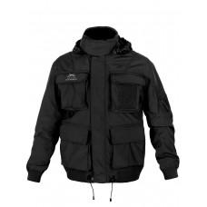 Тактическая мужская куртка Пилот (Bomber) Air Force, Tactica 762, арт 053, цвет Черный (Black)