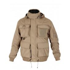 Тактическая мужская куртка Пилот (Bomber) Air Force, Tactica 762, арт 053, цвет Хаки (Khaki)