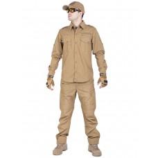 Костюм тактический летний Tactical Series, 762 Armyfans, арт 0890, цвет Койот (Coyote)