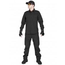 Костюм тактический летний Tactical Series, 762 Armyfans, арт 0890, цвет Черный (Black)