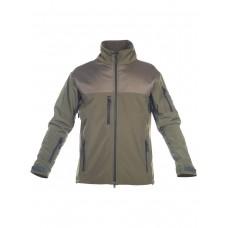 Куртка мужская тактическая софтшелл (Softshell) GONGTEX ALPHA SOFT JACKET, цвет Олива (Olive)