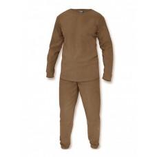 Флисовое термобелье Gongtex, Underwear Fleece Level 1, ver 2.0, цвет Койот (Coyote)