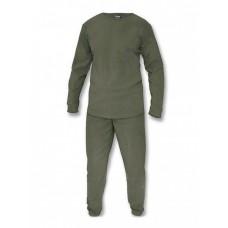 Флисовое термобелье Gongtex, Underwear Fleece Level 1, ver 2.0, цвет Олива (Olive)