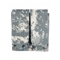 Подсумок для магазина на 2 отделения Tactica 762, арт PH-031, цвет Цифровой серый (ACUPAT)