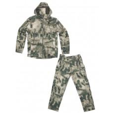 Тактический костюм Софтшелл Softshell Tactical Gear, до -10С, цвет Атакс, Мох (A-TACS)