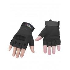 Тактические перчатки беспалые Factory Pilot Gloves, арт 323, цвет Черный (Black)