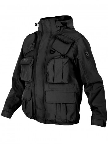 Куртка мужская демисезонная Tactical Pro Jacket 726 ARMYFANS, арт C018, цвет Черный (Black)
