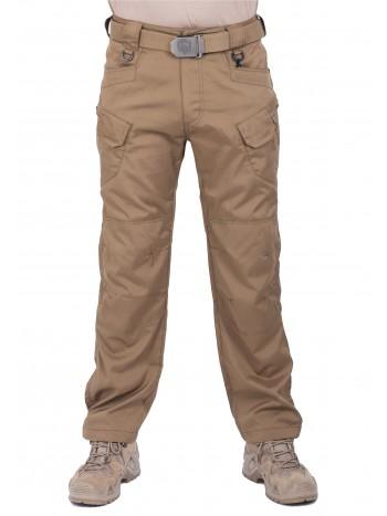 Легкие тактические нейлоновые брюки Tactical Pants, 726 ARMYFANS, арт 1205, цвет Койот (Coyote)