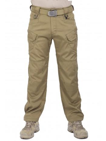 Легкие тактические нейлоновые брюки Tactical Pants, 726 ARMYFANS, арт 1205, цвет Хаки (Khaki)