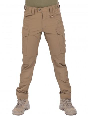 Легкие тактические нейлоновые брюки Outdoor Assault Pants, Gongtex, цвет Койот (Coyote)