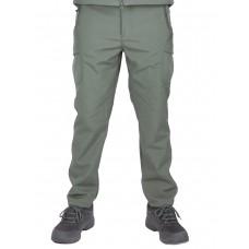 Утепленные тактические брюки Софтшелл Softshell Tactical Gear, цвет Олива (Olive)