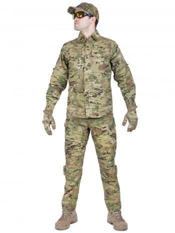 Костюм тактический летний Tactical Series, 726 GEAR, арт 0891, цвет Мультикам (Multicam)