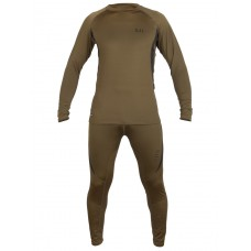Термобелье 5.11 Functional Underwear, 90% Полиэстер,10% Спандекс, арт 8073, цвет Олива/Хаки (Olive/Khaki)