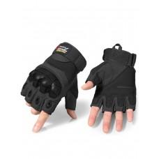 Тактические перчатки беспалые Army Tactical Gloves, 762 Gear, арт 325, цвет Черный (Black)
