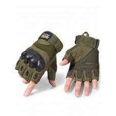 Тактические перчатки беспалые Army Tactical Gloves, 762 Gear, арт 325, цвет Олива (Olive)