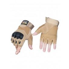 Тактические перчатки беспалые Army Tactical Gloves, 762 Gear, арт 325, цвет Койот (Coyote)