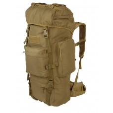 Тактический рюкзак Grizzly, Tactica 762, арт 229, 50-70 литров, цвет Койот (Coyote)