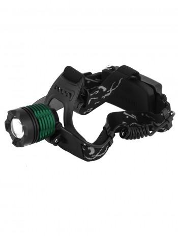 Мощный налобный светодиодный аккумуляторный фонарь HL-008 (полный комплект)