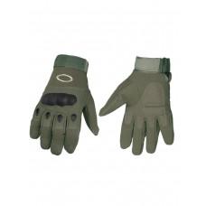 Тактические перчатки полнопалые , Factory Pilot Gloves, арт OK-324, цвет Олива (Olive)