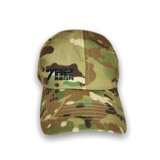 Тактическая кепка бейсболка 762 GEAR Ripstop , цвет Мультикам (Multicam)
