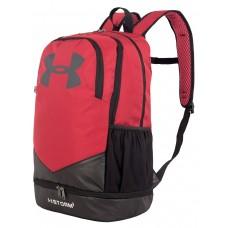 Рюкзак Городской, Спортивный UnderArmour Storm, 32 литра, цвет Черный/Красный (Black/Red)