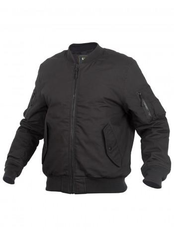 Куртка Пилот мужская утепленная (бомбер), GONGTEX Tactical Ripstop Jacket, осень-зима, цвет Черный (Black)