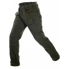 Брюки тактические мужские Софтшелл Gongtex Assault Softshell Pants, осень-зима, цвет Олива (Olive)