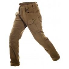Брюки тактические мужские Софтшелл Gongtex Assault Softshell Pants, осень-зима, цвет Койот (Coyote)