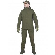 Тактический костюм мужской софтшелл GONGTEX SMARTFOX SOFTSHELL, весна - осень, цвет Олива (Olive)