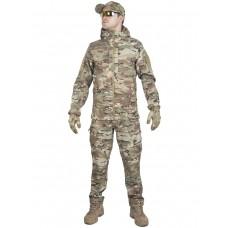 Тактический костюм мужской софтшелл GONGTEX SMARTFOX SOFTSHELL, весна - осень, цвет Мультикам ( Multicam)