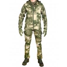 Тактический костюм мужской софтшелл GONGTEX SMARTFOX SOFTSHELL, весна - осень, цвет Атакс, Мох (A-TACS)