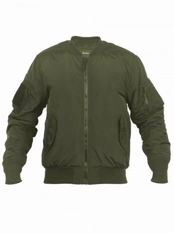 Куртка Пилот мужская утепленная (бомбер), GONGTEX Tactical Soft Flight Jacket, осень-зима, цвет Олива (Olive)