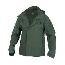 Куртка мужская тактическая 2в1, GONGTEX Alpha Hardshell Jacket, цвет Олива (Olive)