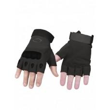 Тактические перчатки беспалые Factory Pilot Gloves, арт OK-323, цвет Черный (Black)