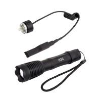 Сверхмощный подствольный тактический фонарь, аккумуляторный,...
